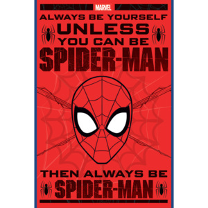 Spider-Man - Always Be Yourself Poster, (61 x 91,5 cm)