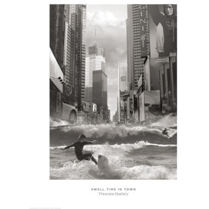 Thomas Barbey - Swell Time In Town Reproducere, (60 x 80 cm)