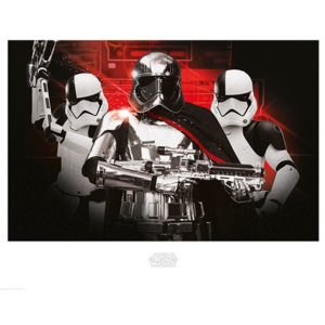 Star Wars The Last Jedi - Stormtrooper Team Reproducere, (80 x 60 cm)