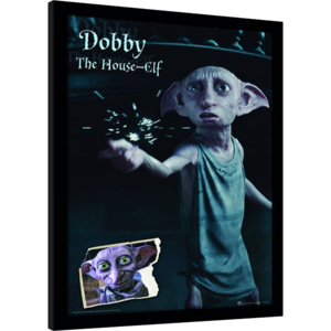 Harry Potter - Dobby Afiș înrămat