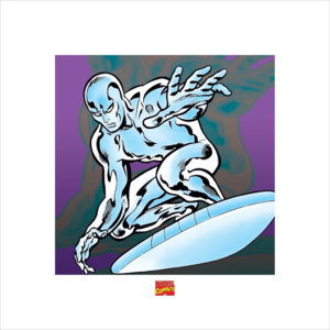 Silver Surfer - Marvel Comics Reproducere, (40 x 40 cm)