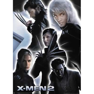 X-MEN 2 - collage Poster, (68 x 101 cm)