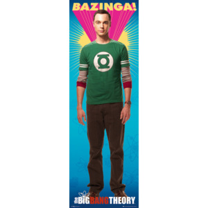 BIG BANG THEORY - bazinga Poster, (30 x 91 cm)