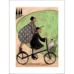 Sam Toft - Double Decker Bike Reproducere, (60 x 80 cm)