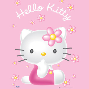 Hello Kitty - Pink Poster, ( x cm)
