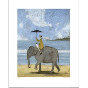 Sam Toft - On The Edge Of The Sand Reproducere, (40 x 50 cm)