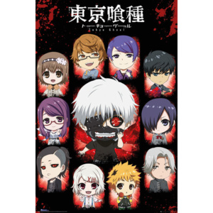 Tokyo Ghoul - Chibi Characters Poster, (61 x 91,5 cm)
