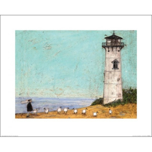 Sam Toft - Seven Sisters And A Lighthouse Reproducere, (50 x 40 cm)