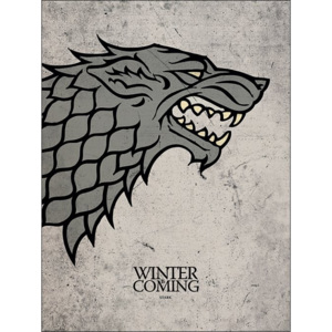 Game of Thrones - Stark Reproducere, (60 x 80 cm)