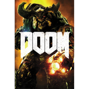 Doom - Cyber Demon Poster, (61 x 91,5 cm)