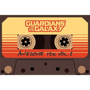 Guardians Of The Galaxy - Awesome Mix Vol 1 Poster, (91,5 x 61 cm)