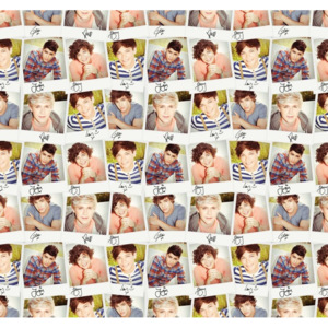 One Direction - Collage Fototapet, (270 x 253 cm)