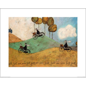 Sam Toft - Just One More Hill Reproducere, (50 x 40 cm)