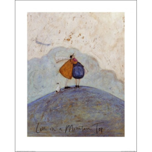 Sam Toft - Love on a Mountain Top Reproducere, (40 x 50 cm)
