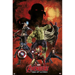 Marvel - Avengers age of Ultron Poster, (61 x 91,5 cm)