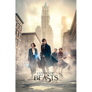 Fantastic Beasts - New York Streets Poster, (61 x 91,5 cm)