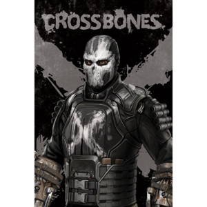 Captain America Civil War - Crossbones Poster, (61 x 91,5 cm)