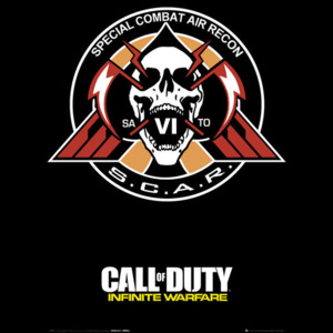 Call of Duty: Infinite Warfare - Scar Poster, (61 x 91,5 cm)