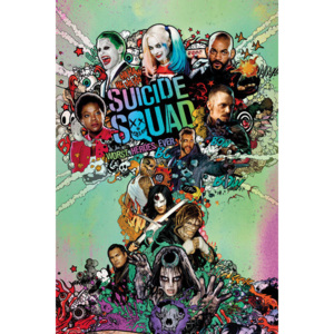 Suicide Squad - One Sheet Poster, (61 x 91,5 cm)