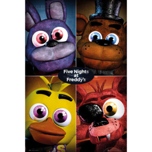 Five Nights At Freddy's - Quad Poster, (61 x 91,5 cm)