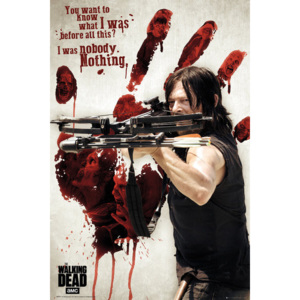 Walking Dead - Bloody Hand Daryl Poster, (61 x 91,5 cm)