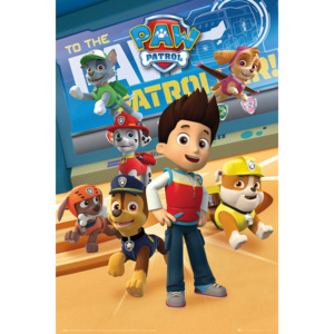 Paw Patrol - Characters Poster, (61 x 91,5 cm)