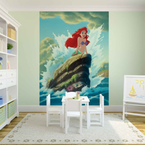 Disney Little Mermaid Ariel Fototapet, (104 x 70.5 cm)