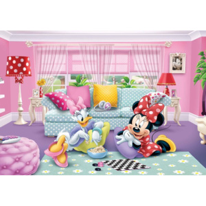 Disney Minnie Mouse Fototapet, (152.5 x 104 cm)