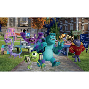 Disney Monsters Inc Fototapet, (254 x 184 cm)