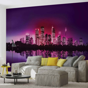 City New York Skyline Fototapet, (211 x 90 cm)