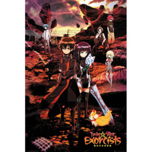 Twin Star Exorcists - Twin Star Exorcists Key Art Poster, (61 x 91,5 cm)