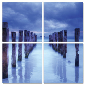 Stake above water Tablou, (100 x 100 cm)