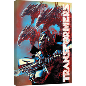 Transformers: The Last Knight - Dragons Tablou Canvas, (60 x 80 cm)