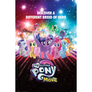 My Little Pony Movie - A Different Breed of Hero Poster, (61 x 91,5 cm)