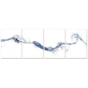 Abstraction of water Tablou, (140 x 50 cm)