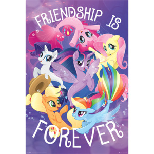 My Little Pony Movie - Friendship is Forever Poster, (61 x 91,5 cm)