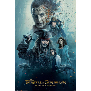 Pirates of the Caribbean - Burning Poster, (61 x 91,5 cm)