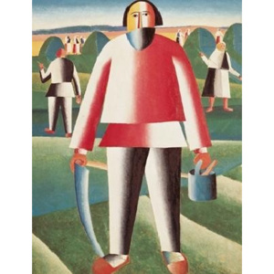 Haymaking Reproducere, Kazimir Malevich, (60 x 80 cm)