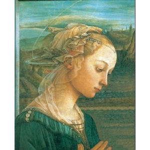 Madonna with Child and two Angels (part) Reproducere, Lippi, (50 x 70 cm)