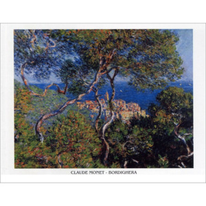 Bordighera, 1884 Reproducere, Claude Monet, (30 x 24 cm)