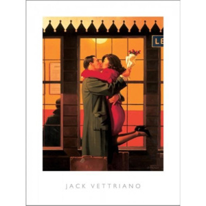 Back Where You Belong, 1996 Reproducere, Jack Vettriano, (40 x 50 cm)