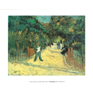 Entrance to the Public Garden in Arles, 1888 Reproducere, Vincent van Gogh, (30 x 24 cm)