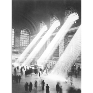 NEW YORK - Sunbeam in Grand Central Station Reproducere, ALAN SCHEIN PHOTOGRAPHY, (60 x 80 cm)
