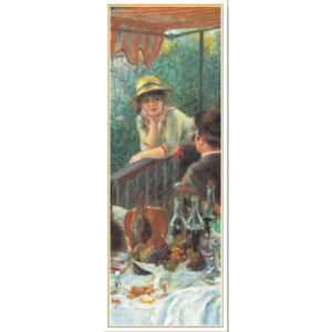 Luncheon of the Boating Party, 1880-81 (part.) Reproducere, Pierre-Auguste Renoir, (35 x 100 cm)