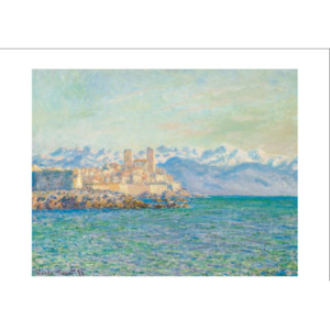 The Old Fort at Antibes Reproducere, Claude Monet, (30 x 24 cm)