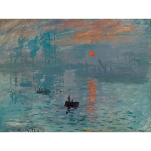 Impression, Sunrise - Impression, soleil levant, 1872 Reproducere, Claude Monet, (70 x 50 cm)