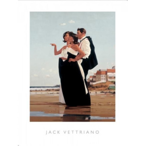 The Missing Man II, 1998 Reproducere, Jack Vettriano, (50 x 40 cm)