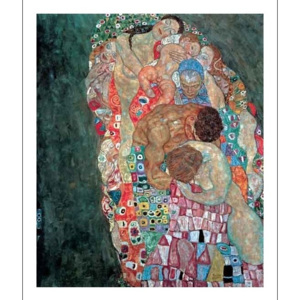 Death and Life (part) Reproducere, Gustav Klimt, (60 x 80 cm)