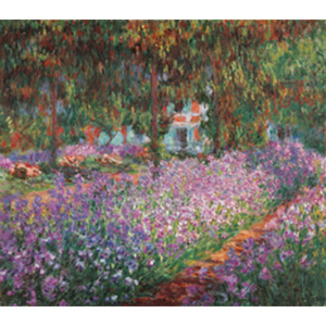 The Artist's Garden at Giverny, 1900 Reproducere, Claude Monet, (80 x 60 cm)
