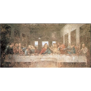 The Last Supper Reproducere, Leonardo Da Vinci, (30 x 24 cm)